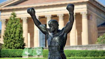 Rocky Statue,Philadelphia Museum of Art