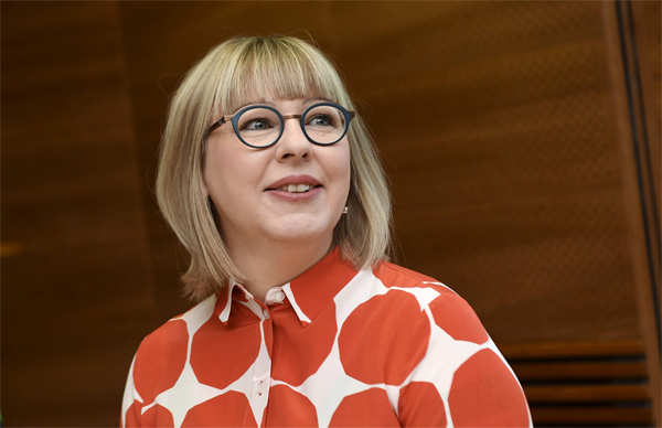 """Finland's Minister of Social Affairs and Health Aino-Kaisa Pekonen said the aim of the """"radical reform"""" was to improve gender equality and boost a declining birth rate."""
