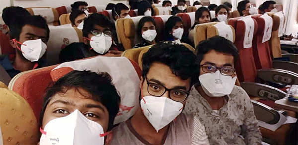 The risk of catching a serious viral infection on an aircraft is low. The air supply to a modern airliner is very different from a movie theater or an office building.