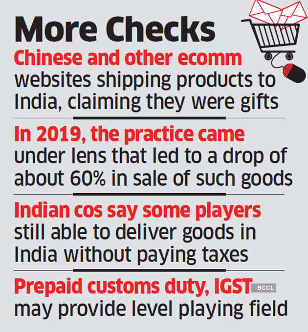 Buying from foreign ecommerce sites may get costlier