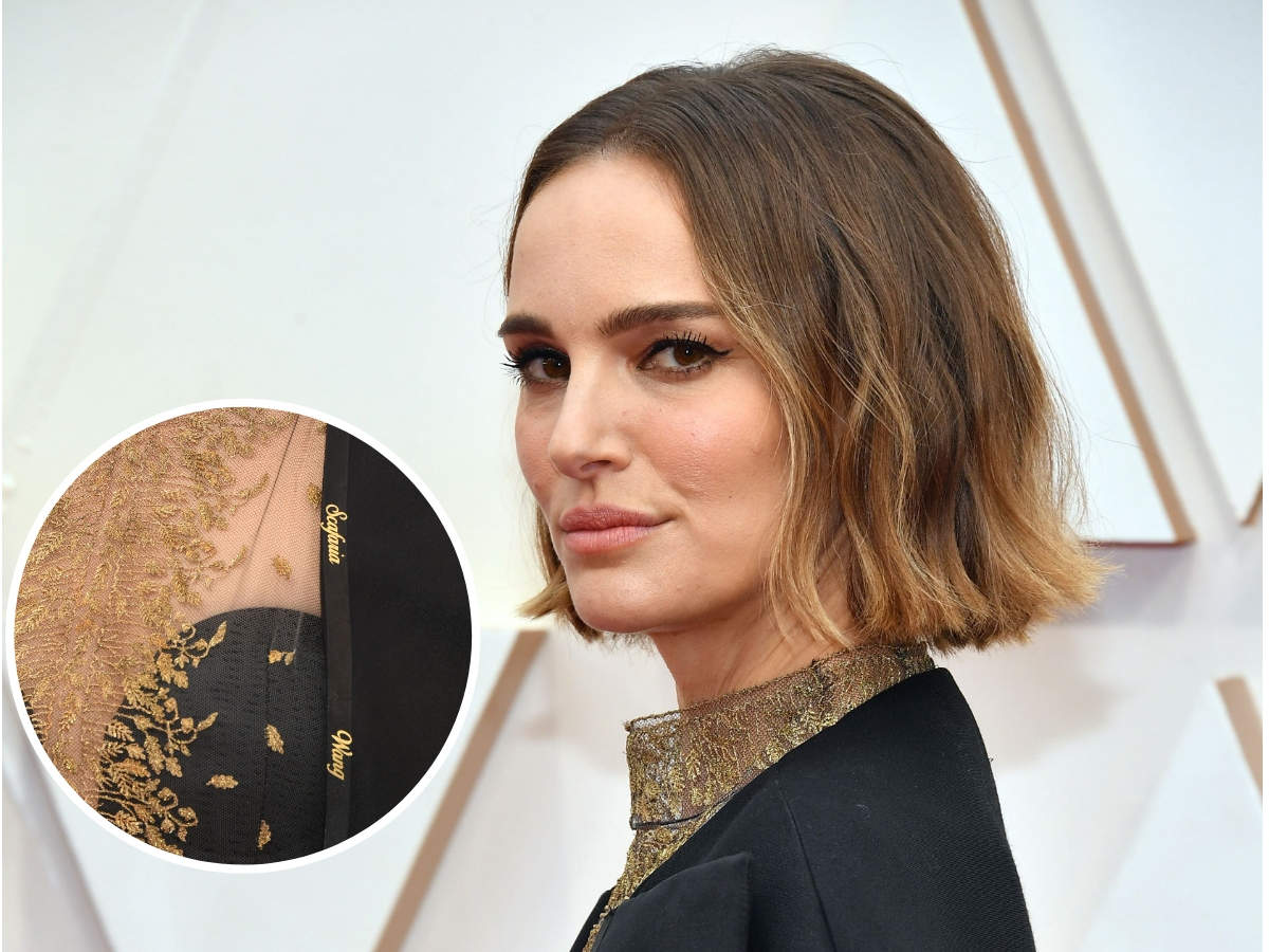 Natalie Portman wanted to recognise the women who were not recognised for their incredible work this year in her subtle way.