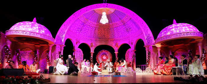 Shangri-La has hosted 300 people on an average at an Indian wedding.