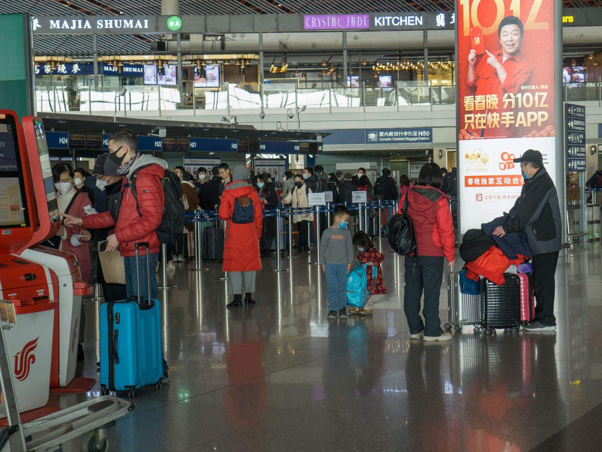 Beijing Airport During Coronavirus Outbreak.