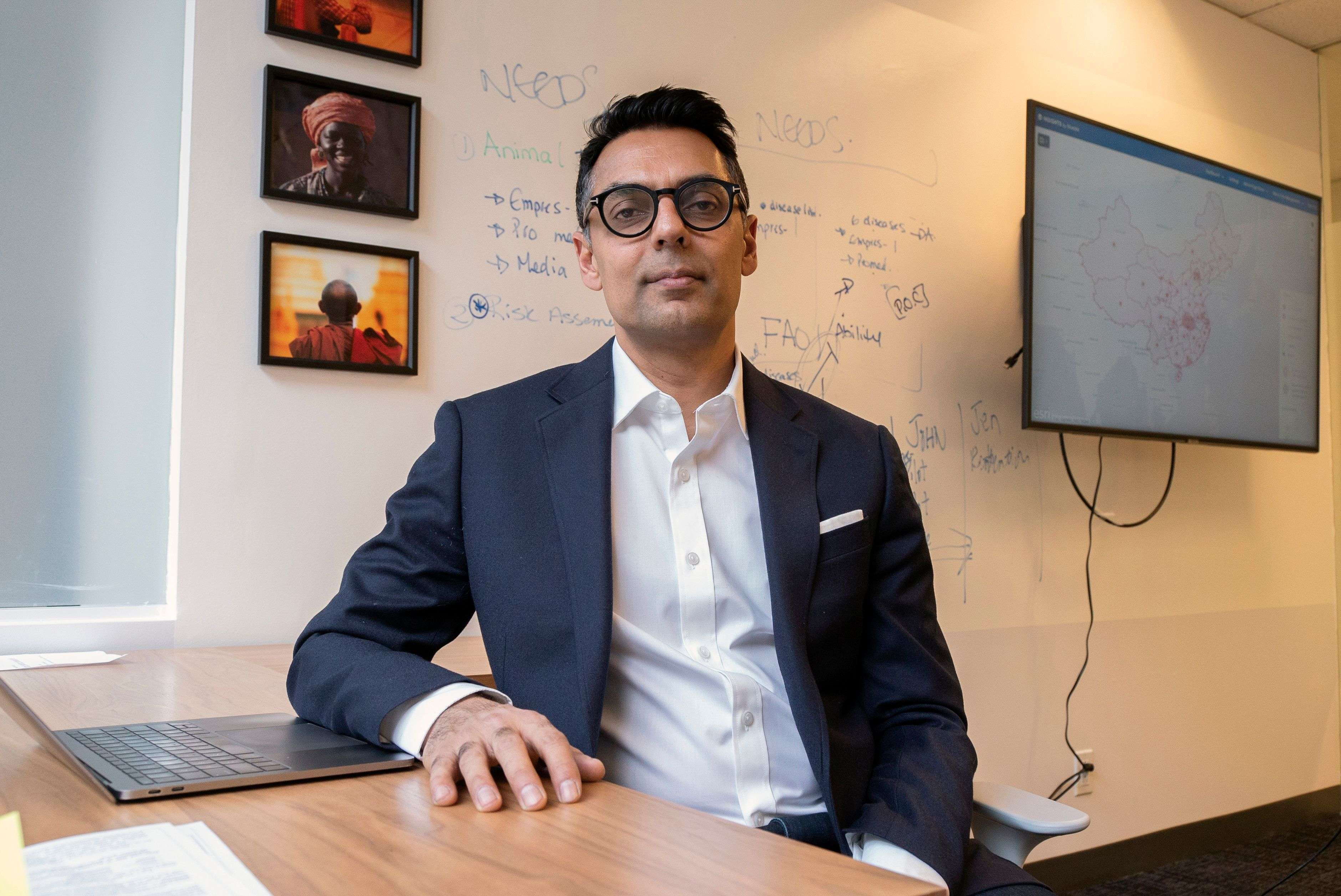 Founder Kamran Khan first had the idea to launch BlueDot after the SARS epidemic of 2002-03. 