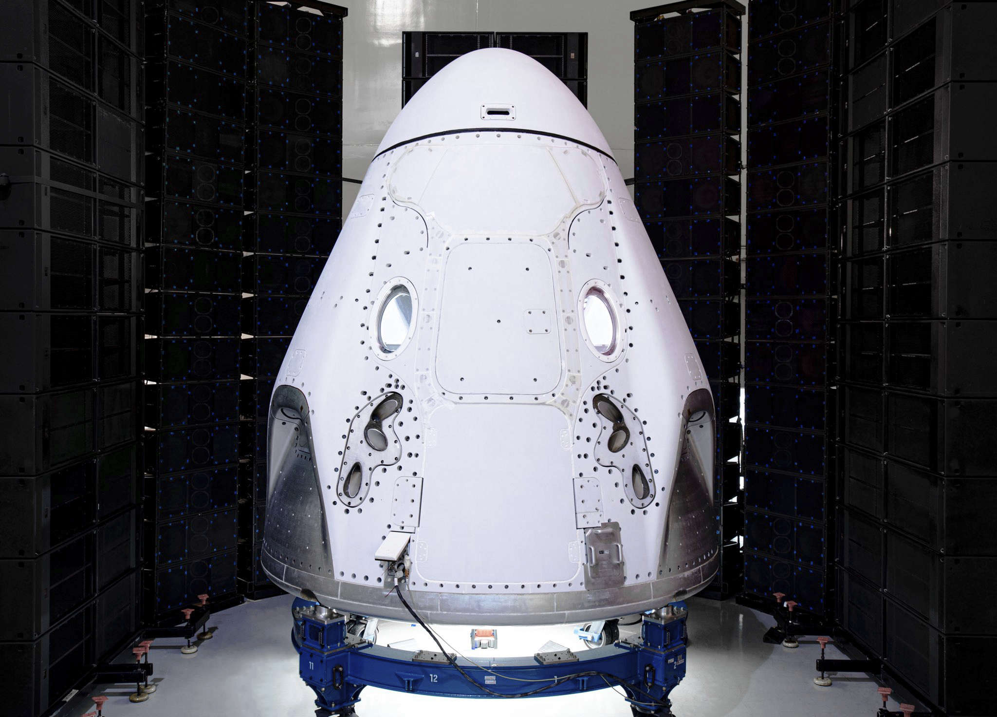 The new tourists would be carried on SpaceX's Crew Dragon capsule.