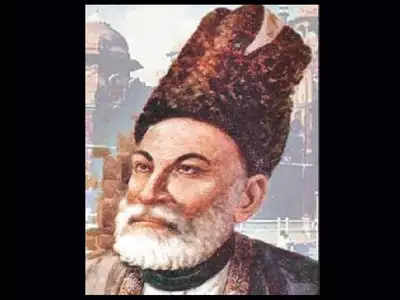 Ghalib, whose 150th death anniversary fell this February, witnessed the last days of the last Mughal court.