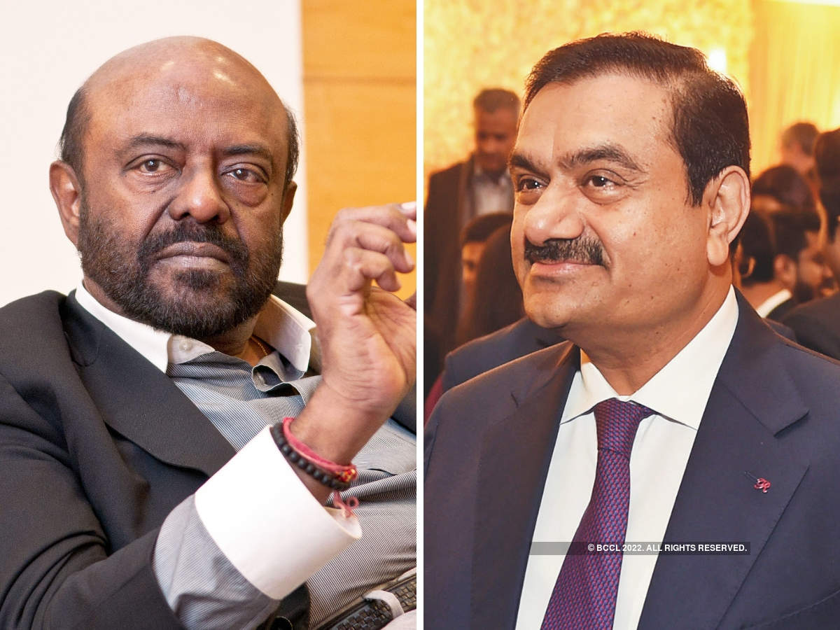 ​Gautam Adani (R) and Shiv Nadar (L) (and family) tie with around $17 billion as net worth, each. ​