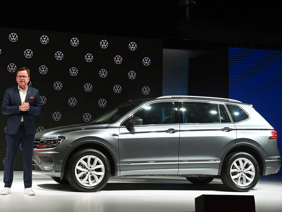 Volkswagen launches 7-seater SUV, Tiguan Allspace , at Rs ...