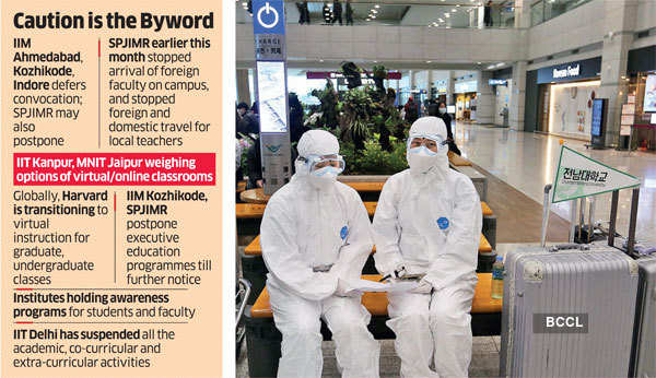 Coronavirus: Lean period at engineering colleges & business schools a big help