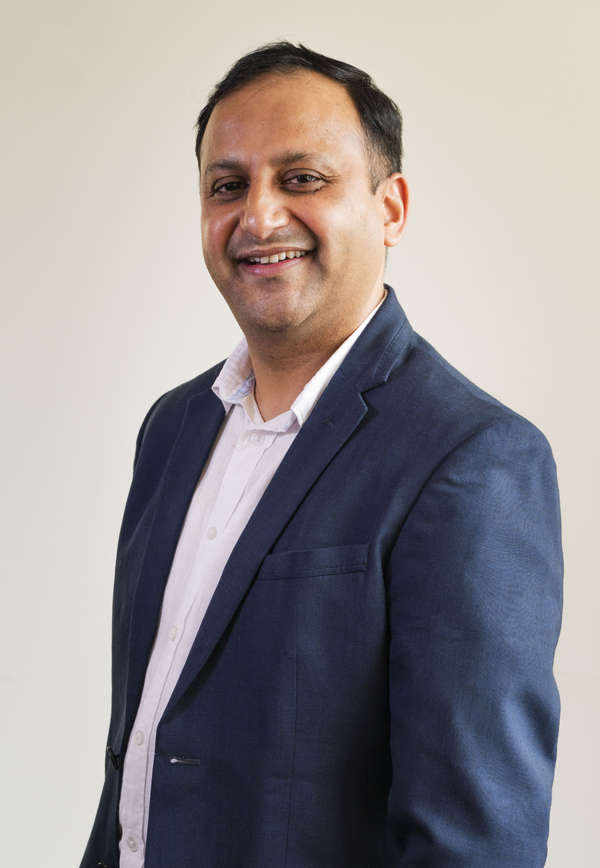 Sandip Chhettri says technology-on-the-go allows the team to complete tasks and attend meetings from anywhere in the world. 