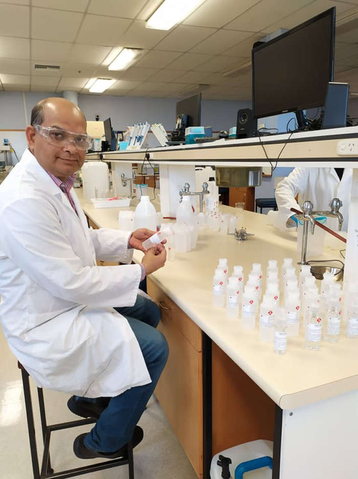 Dr Shyamal Das wanted to contribute to the community during the pandemic but had been unsure how.