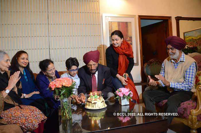 Milkha Singh celebrated his 90th Birthday last year on November 20 with family members at his residence in Sector 8, Chandigarh.