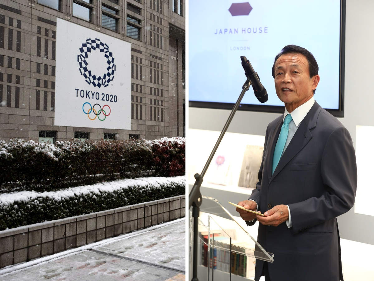 ​Taro Aso​ quoted history to make his point about the Olympics.​