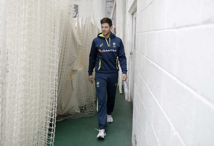 With the world in lockdown, Tim Paine is currently enjoying his time at home with his wife and two children.