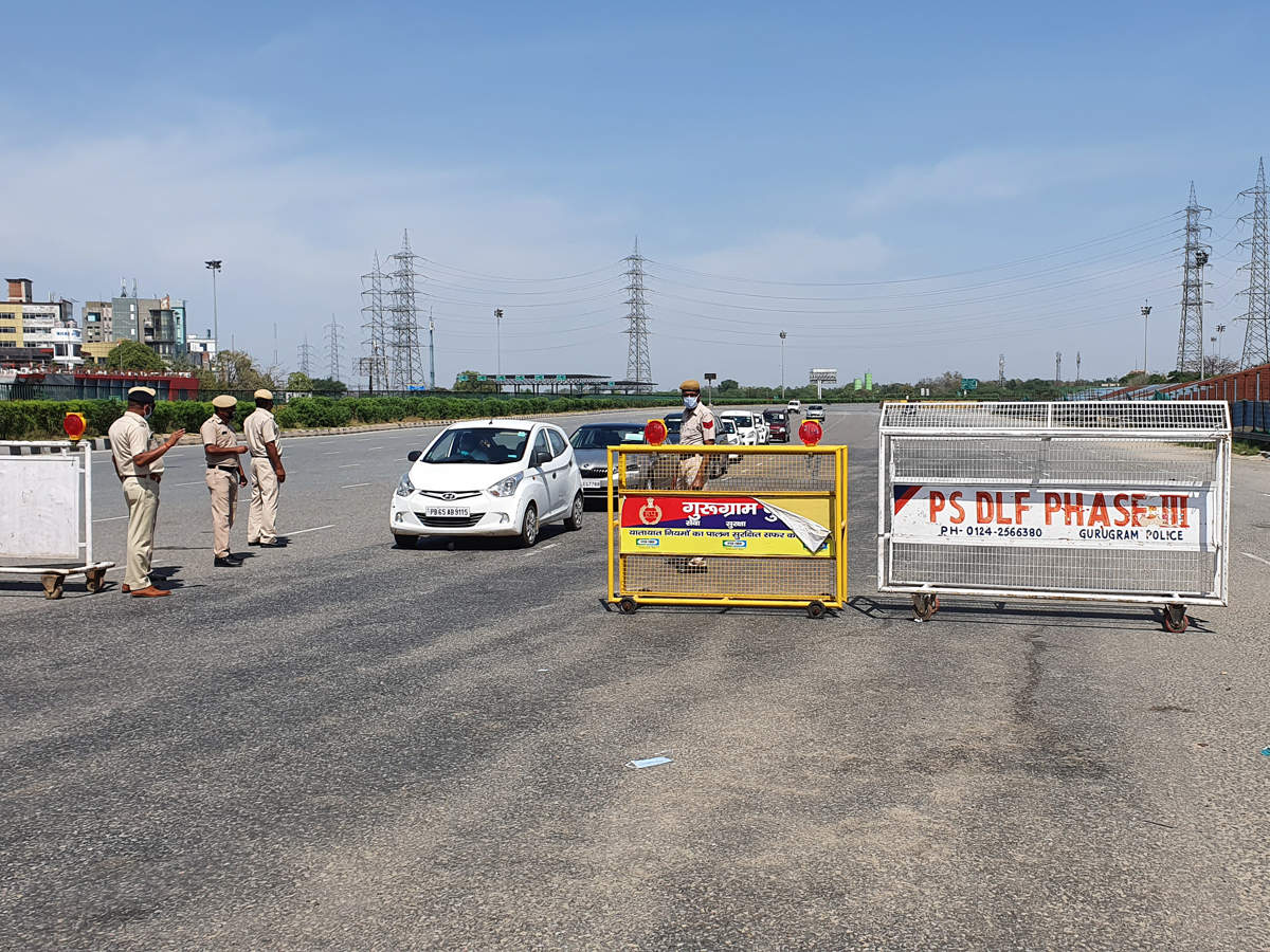A-border-checkpoint-between