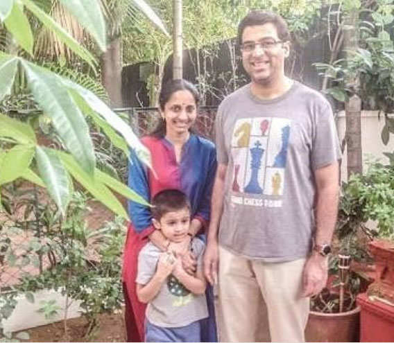 Vishy would tell his son to enjoy things more. (Image: Instagram/viswanathan_anand_official)