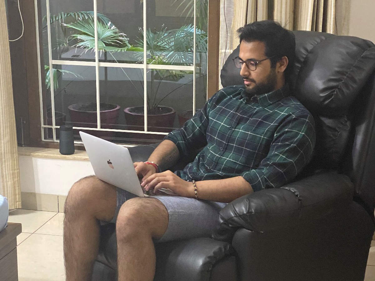 In terms of working out, Bajaj has been enjoying virtual training sessions, balancing it with right food intake, which otherwise is quite disorganised, with his work travel.