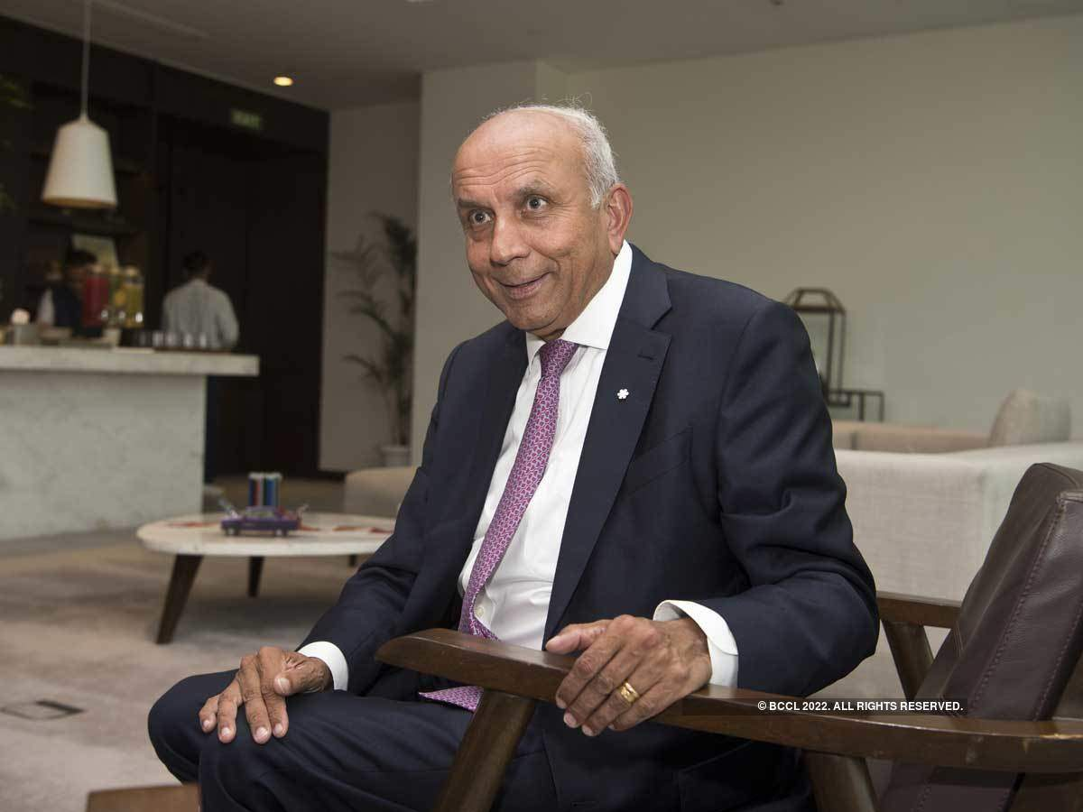 ​The $4.7-billion deal that would have seen BlackBerry go private came undone in November 2013. (In pic: Prem Watsa of Fairfax​)