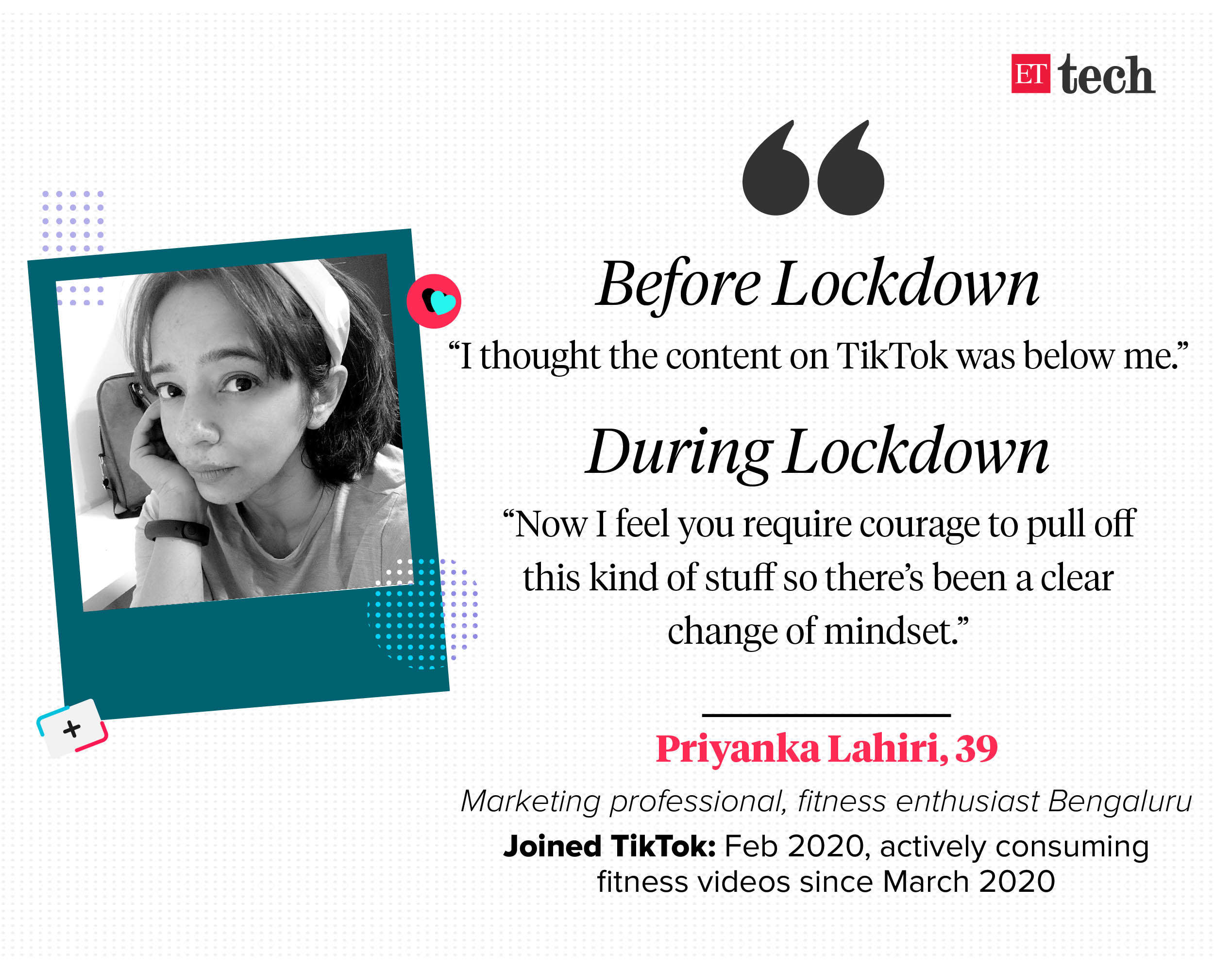 A friend coaxed Agarwal into joining the platform shortly after lockdown, she tells ET.