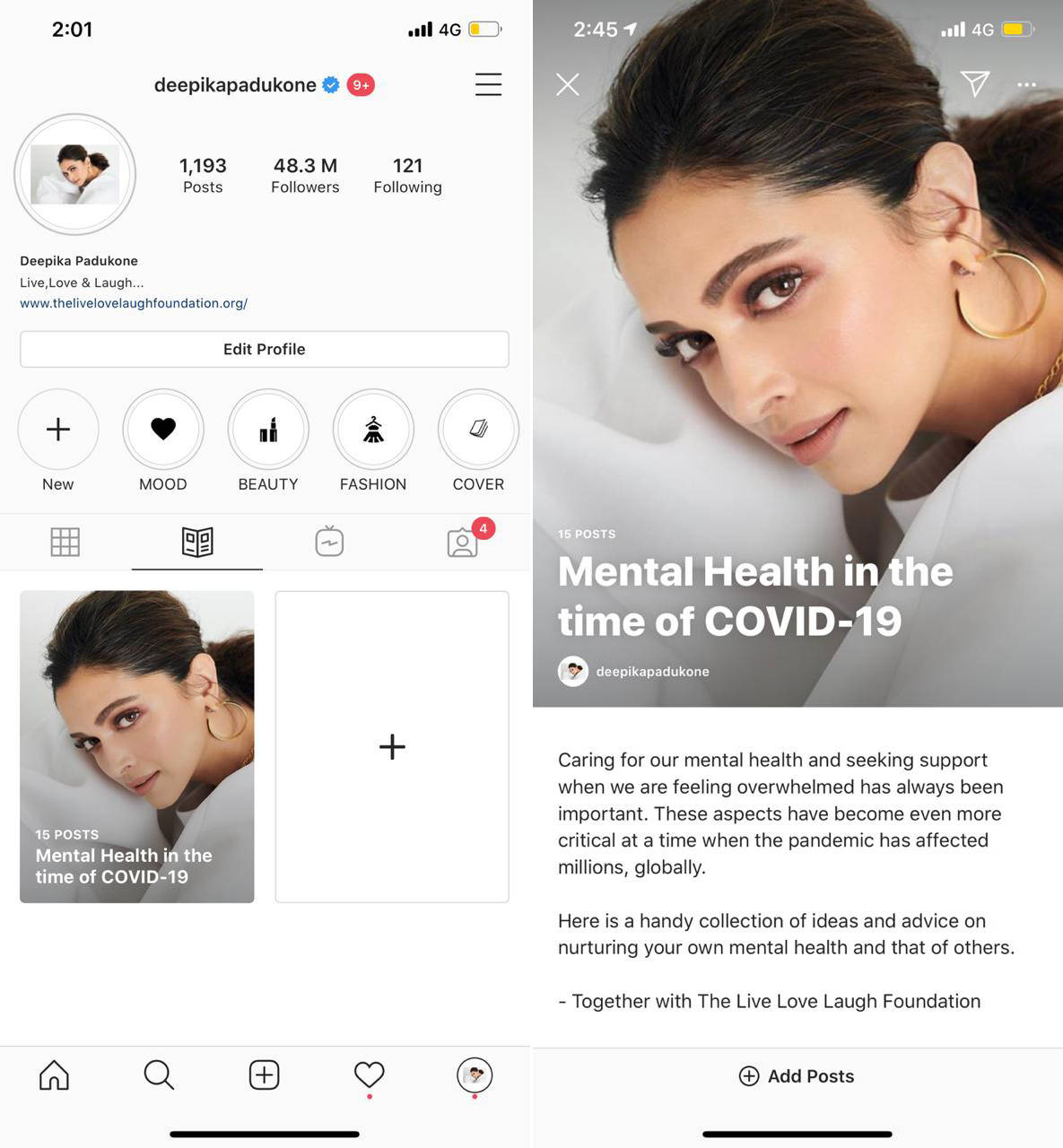 The 'Wellness Guide' is Instagram's new feature to keep people inspired during these tough times.