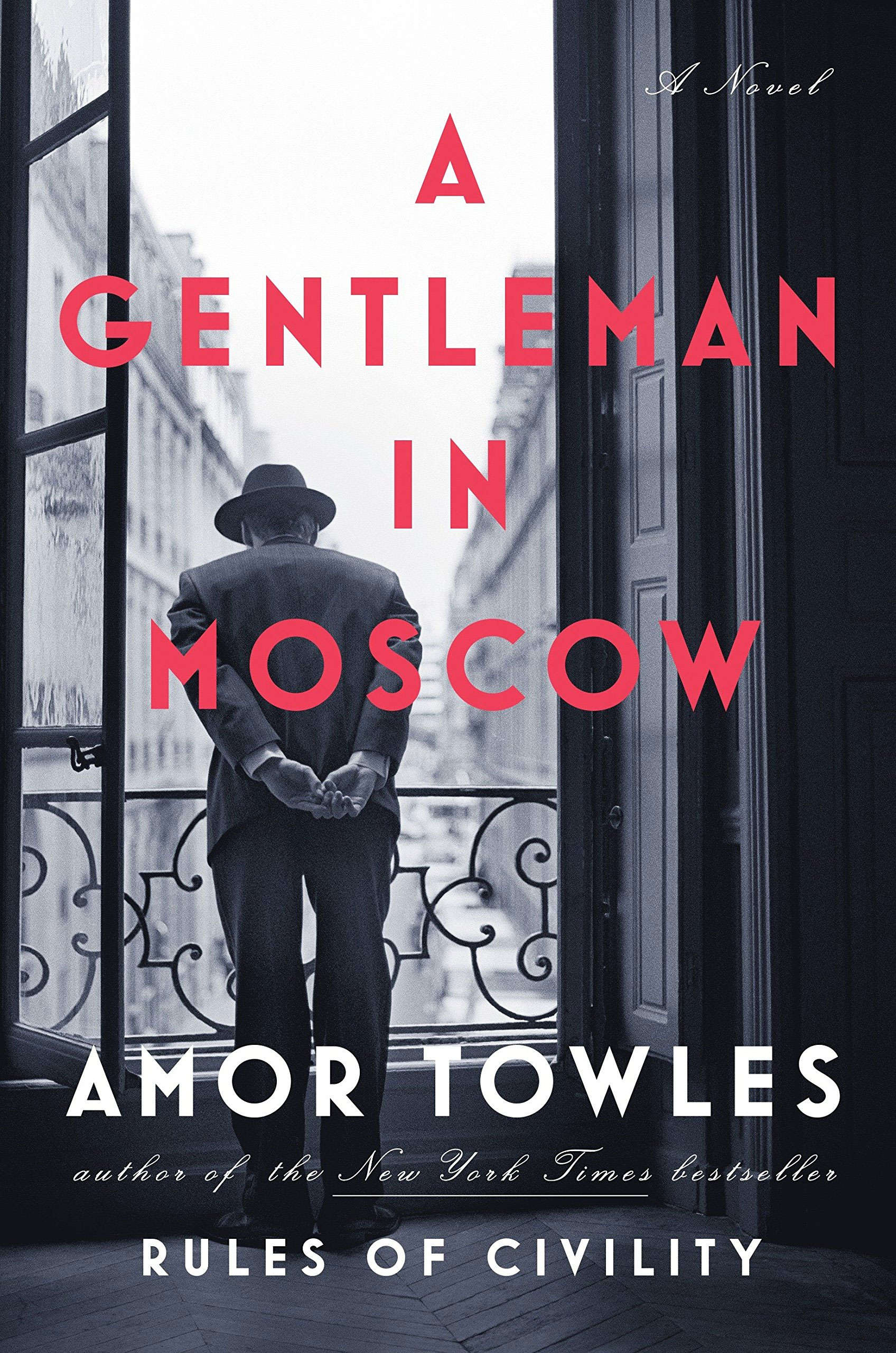 'A Gentleman in Moscow' by Amor Towles