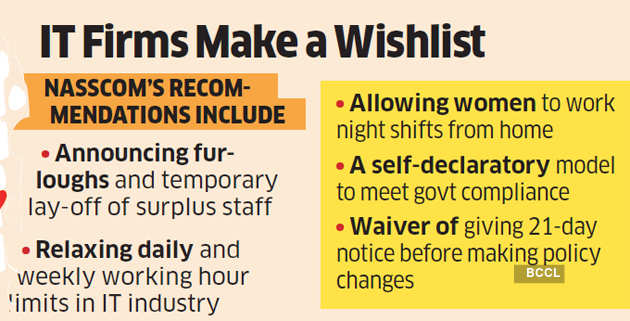 Allow surplus staff layoffs, flexible shifts: IT to states
