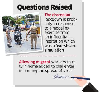 'Govt Didn't Take Expert Advice Before Imposing Lockdown'