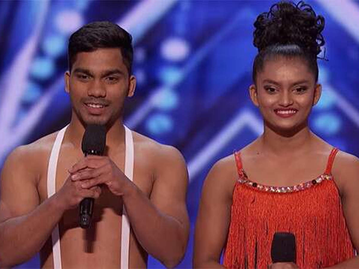 The duo left the social media wondering 'how did they do that?'