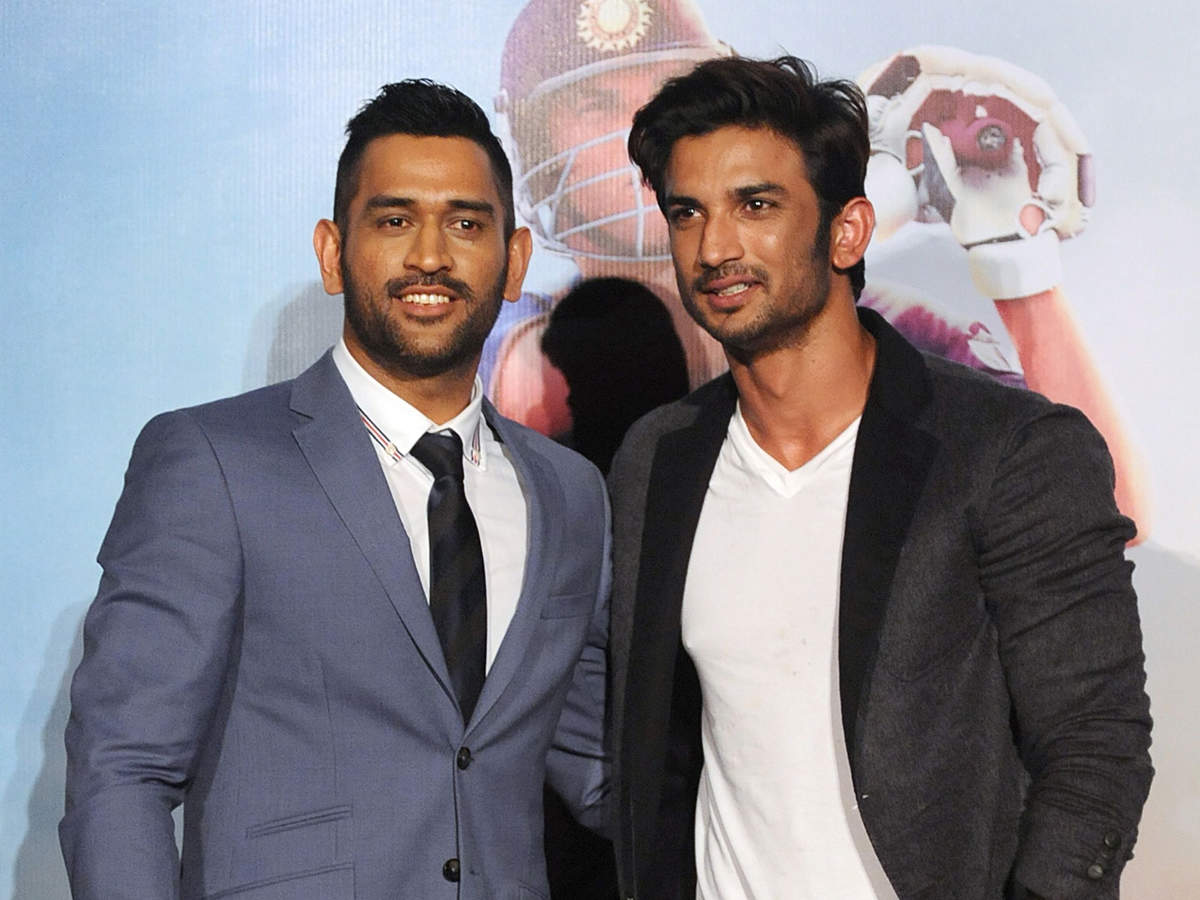 Rajput had established a sense of camaraderie and ease with Dhoni before the shooting began.