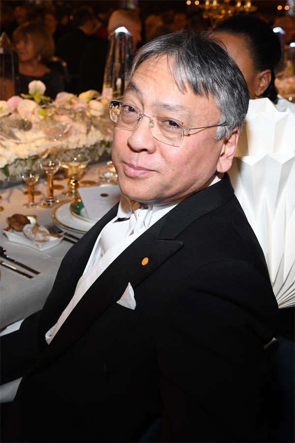 Ishiguro was born in Nagasaki, Japan, in 1954 and moved to Britain at the age of five. His eight previous works of fiction have earned him many honours around the world, including the Booker Prize.