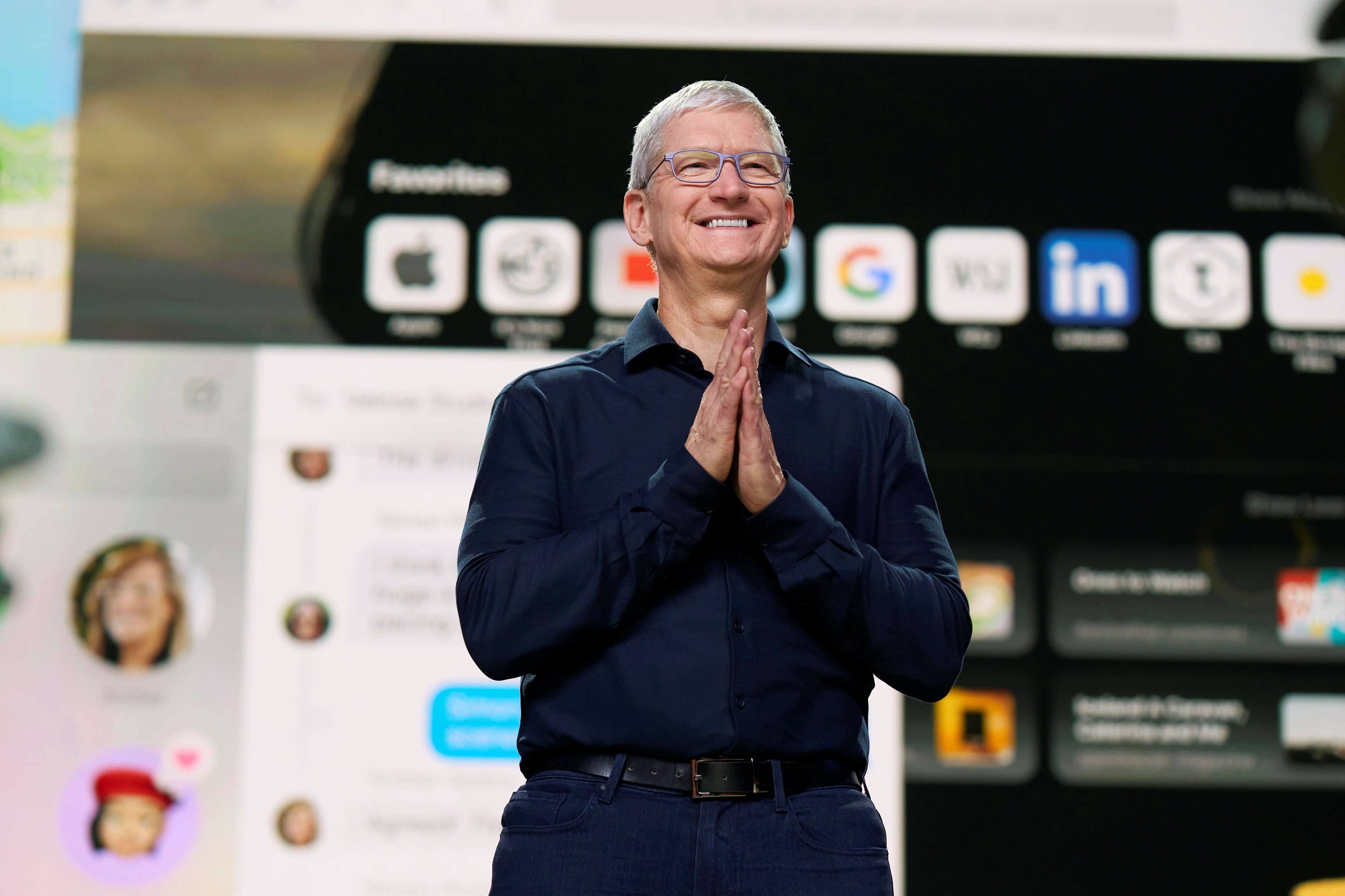 ​Tim Cook addressed racism and a call to 'being a force for change​'.