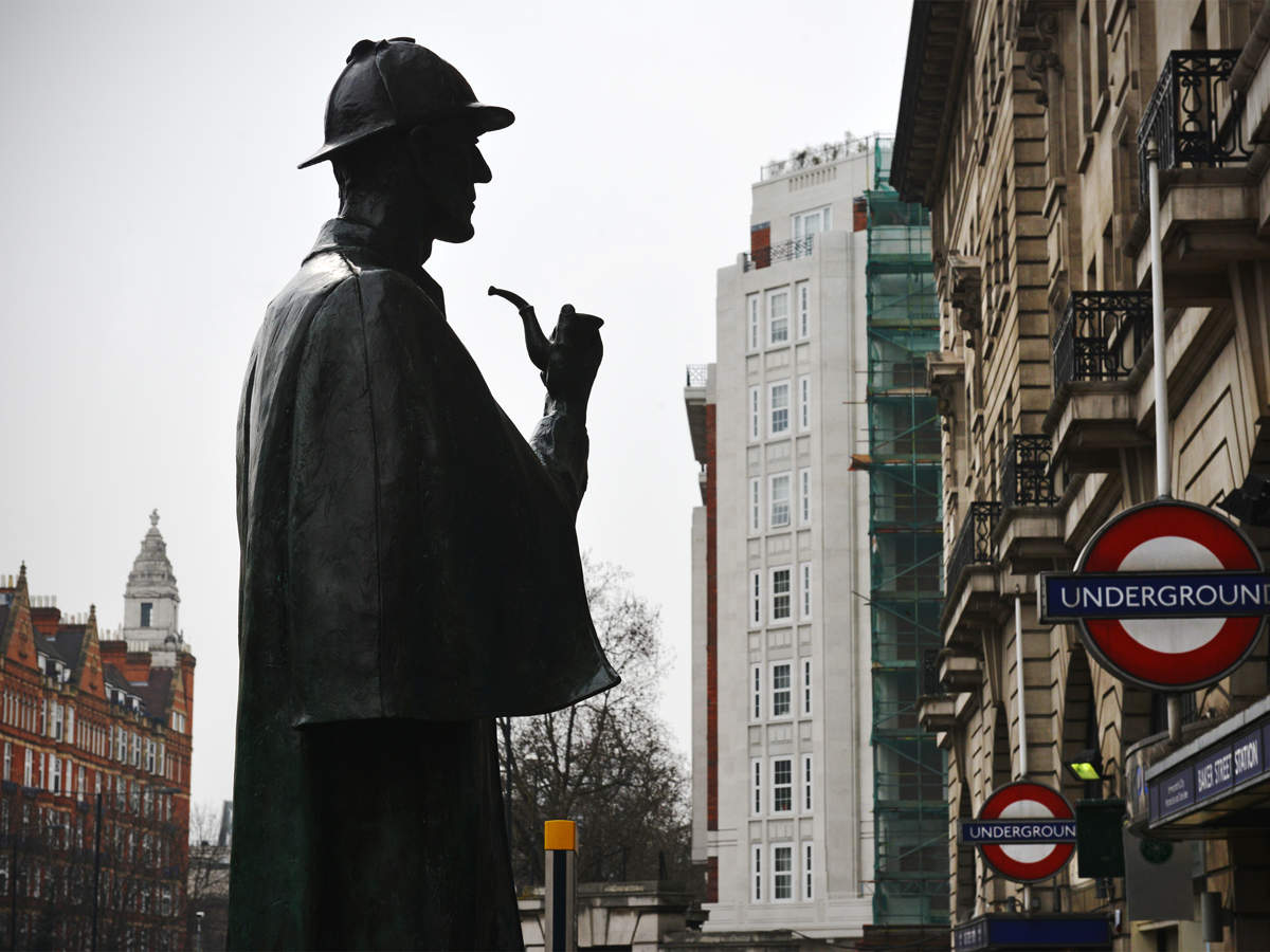 """The suit says that as well as using publically available characters, Springer's """"novels copy Conan Doyle's original additions in the Copyrighted Stories."""