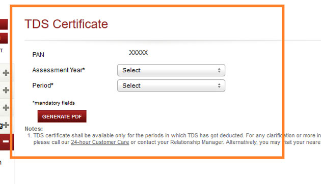 Icici Bank Form 16a How Icici Bank Customers Can Download Form 16a Interest Certificate The Economic Times Of india during which income of a person relating. icici bank form 16a how icici bank