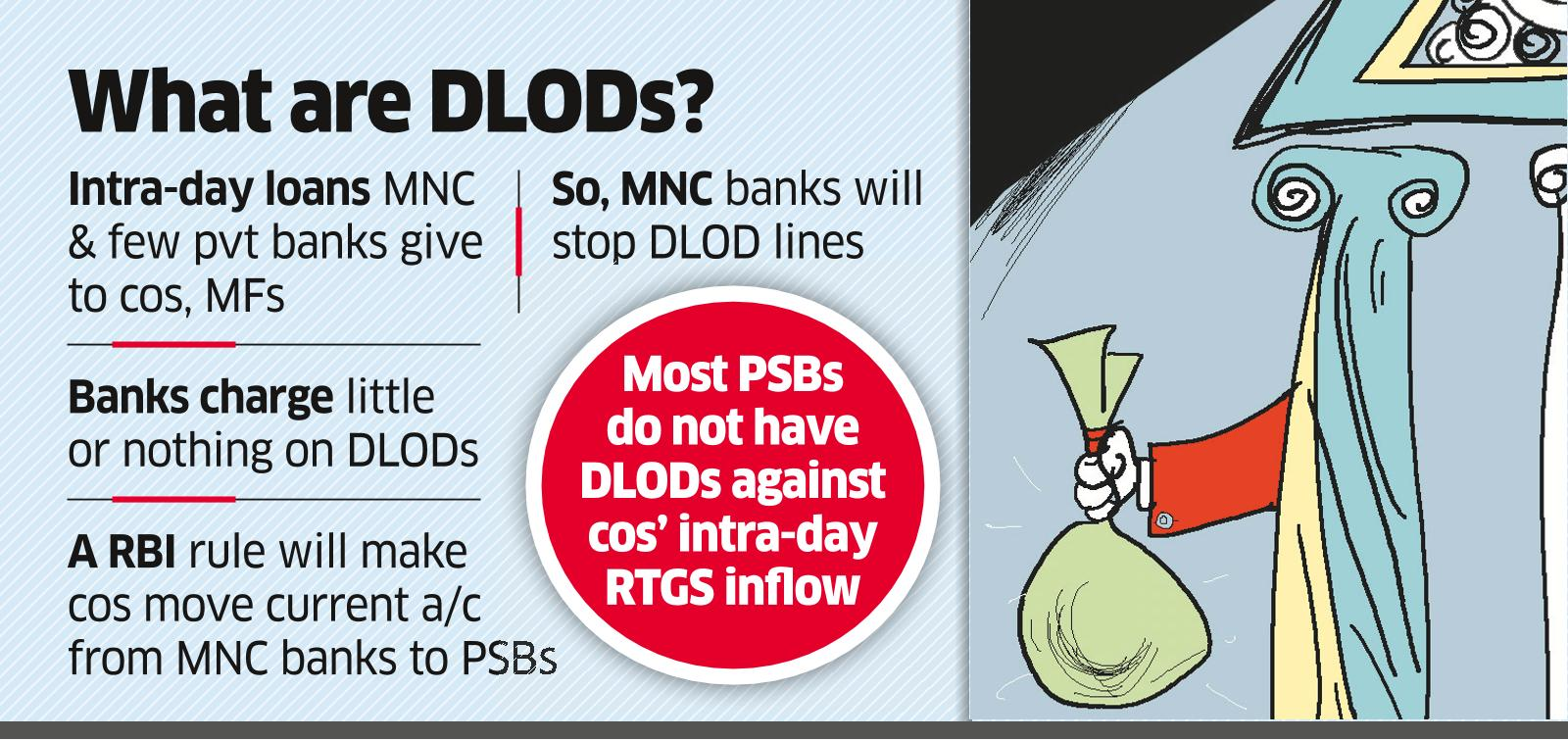PSBs Plan 'Daylight ODs' to Woo Top Cos
