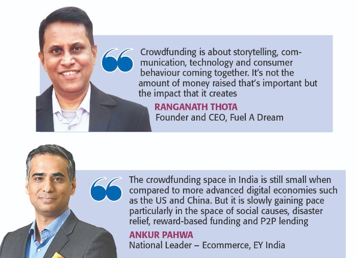 Crowdfunding's tryst with success