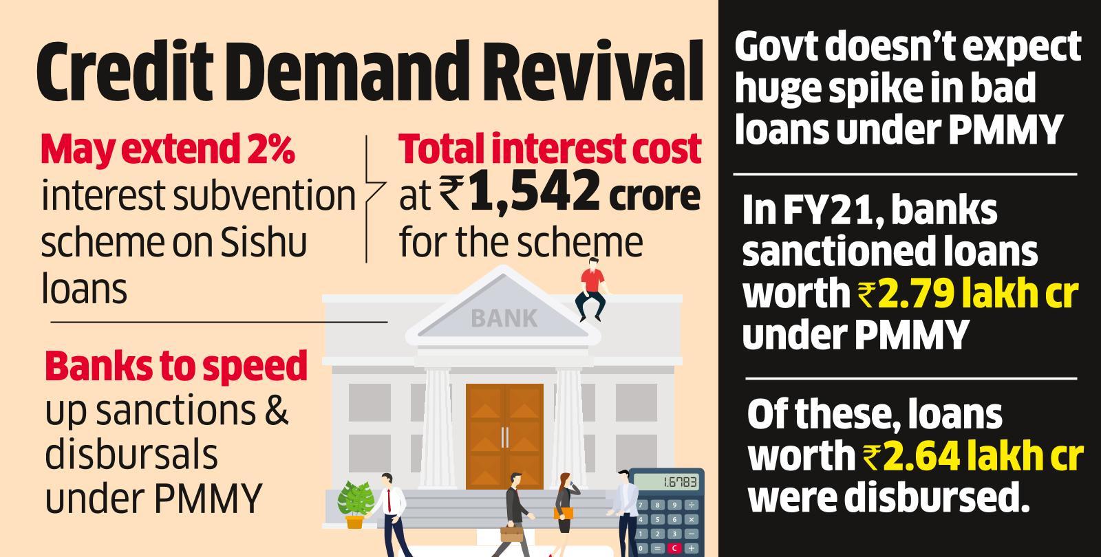 Govt Wants Lenders to Step Up Focus on Mudra Loans