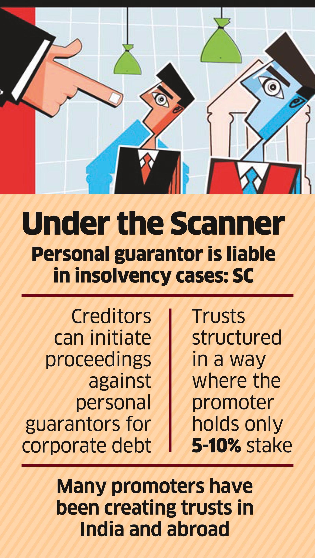 Banks may Target Family Trusts of Loan Guarantors