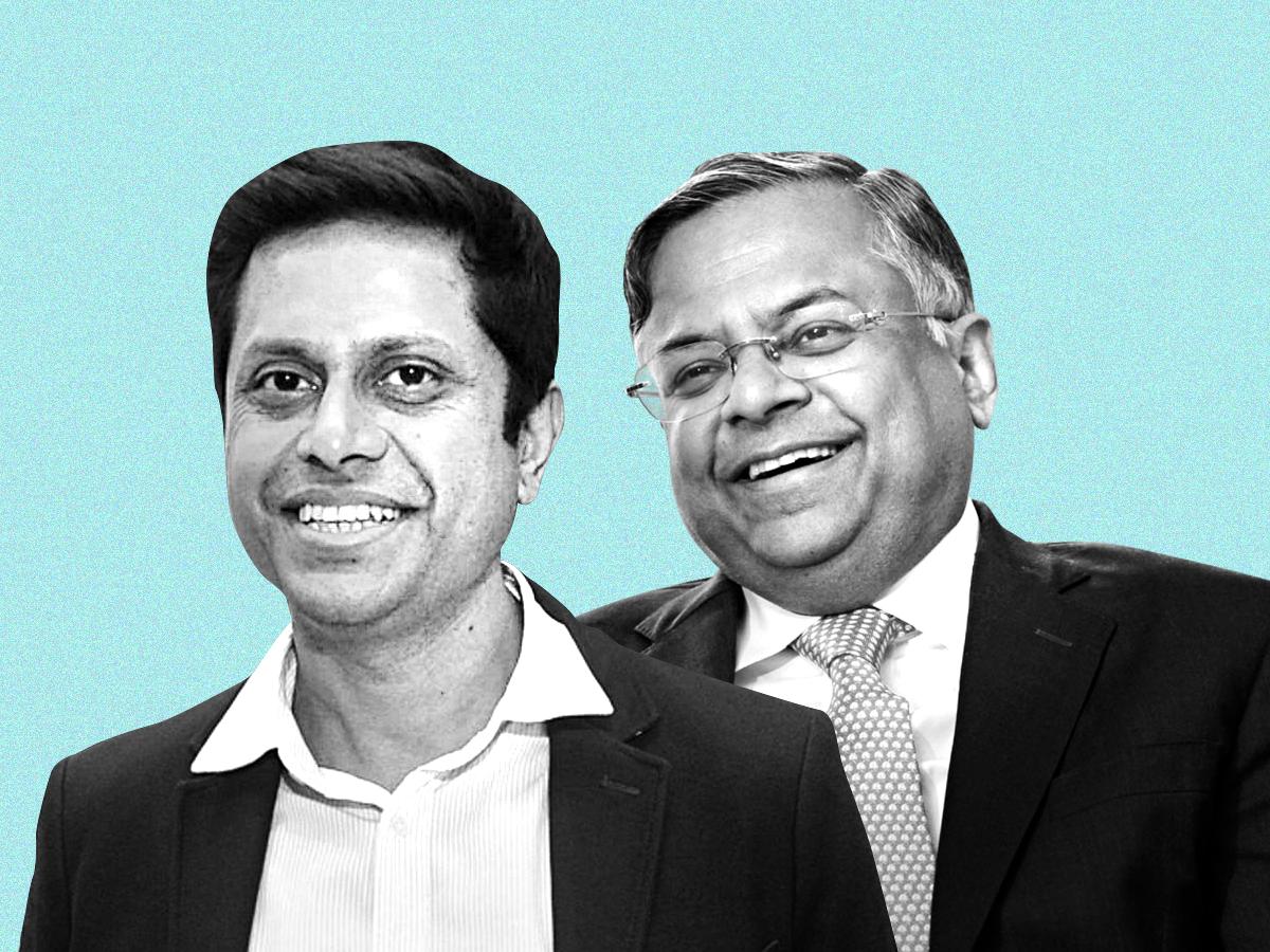 Mukesh Bansal and N Chandrasekaran