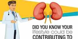 Did you know your lifestyle could be contributing to kidney disease? [Infographic]