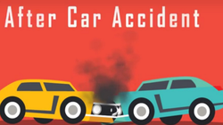What do you do after a car accident?