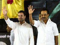 DMK-Congress join hands for 2019 Lok Sabha polls