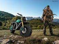 The Volcon Grunt is an all-terrain, off-road motorcycle that can be ridden underwater