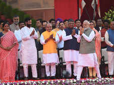 20 first-timers in Modi's Cabinet