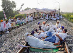 Farmers stir: Nationwide 'Rail Roko Andolan' today in protest against new farm laws