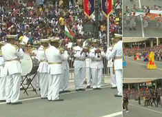 Watch: Independence Day celebrations in Attari-Wagah border