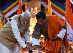 PM Modi: Honour for India to be part of Bhutan's development