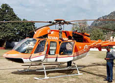 J-K: Chopper en route Kishtwar makes emergency landing due to technical snag; passengers safe