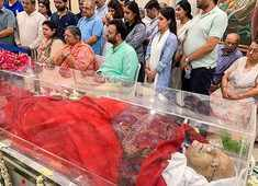 Arun Jaitley's mortal remains taken to BJP HQ