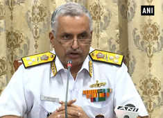Defence Minister to spend day with Indian Navy on Sep 28: VC of Naval Staff