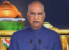 President Kovind focuses on Kashmir, infra growth in I-Day eve address